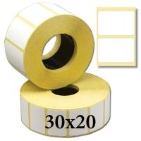 Термоэтикетки 30х20
